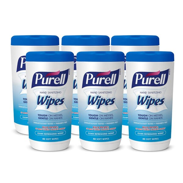 Purell Hand Sanitizing Wipes 40ct.1