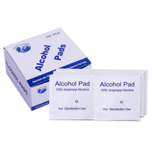 Care of your health, Alcohol Pads, 70% Alcohol, 100CT.1