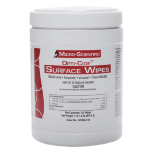 _Opti-Cide 3 Surface Cleaning Wipes (100_Tub)