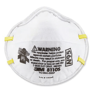 3M N95 Particulate Respirator Mask 8110S