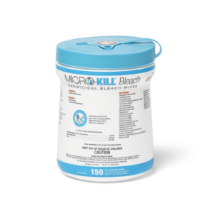 Medline, Micro-Kill Bleach Germicidal 6 x 5 Wipes, 150CT