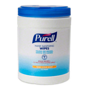 Purell, Hand Sanitizing Wipes Tub, 270CT