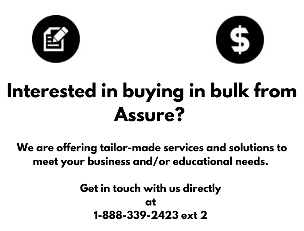 Interested in buying in bulk from Assure
